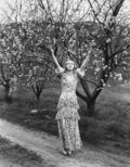 Woman and Tree